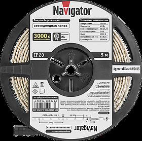 Лента СД NLS-3528WW60-4.8-IP20-12V R5 71 402 Navigator