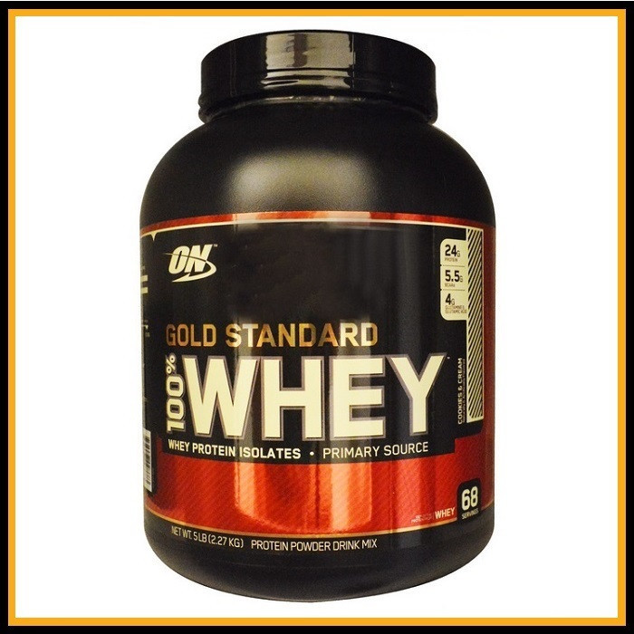 ON Whey gold standard 2,3kg (клубника)