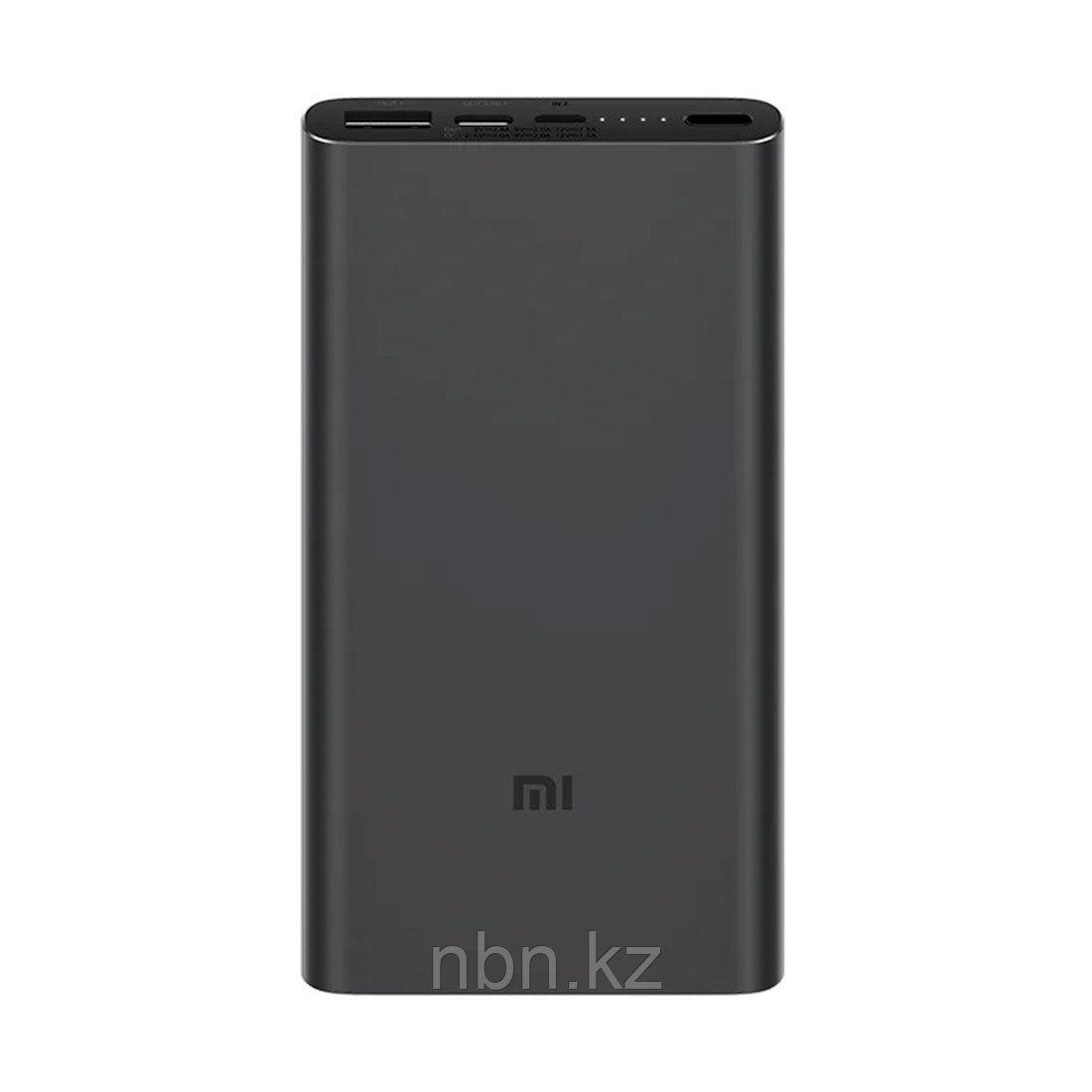 Портативное зарядное устройство Xiaomi Mi Power Bank 10000mAh 3 (2019 Type-C) (PLM12ZM) Черный
