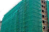 35гр/м2 в рулоне 2мх50м Строительная Фасадная сетка для притенения