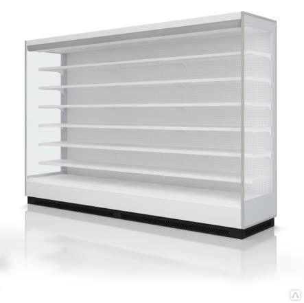 Холодильная витрина Tesey Slim торцевая