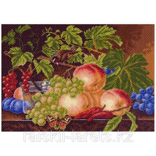 """Рисунок на канве для вышивания крестом """"Воспоминания об осени"""" арт. 1002"""