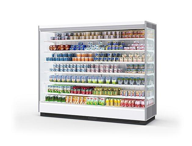 Холодильная витрина Tesey Slim Portable 250