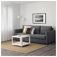 ФРИХЕТЭН 3-местный диван-кровать, Шифтебу темно-серый, фото 1
