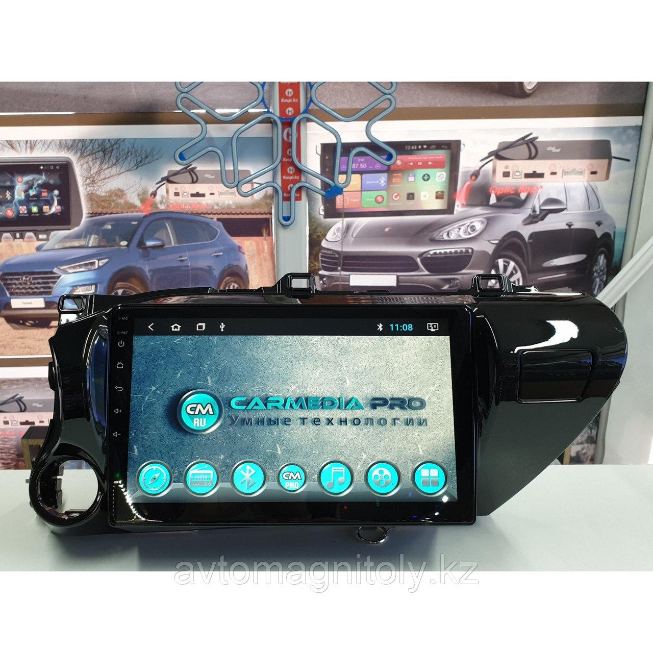 Магнитола CarMedia PRO Toyota Hilux 2016+