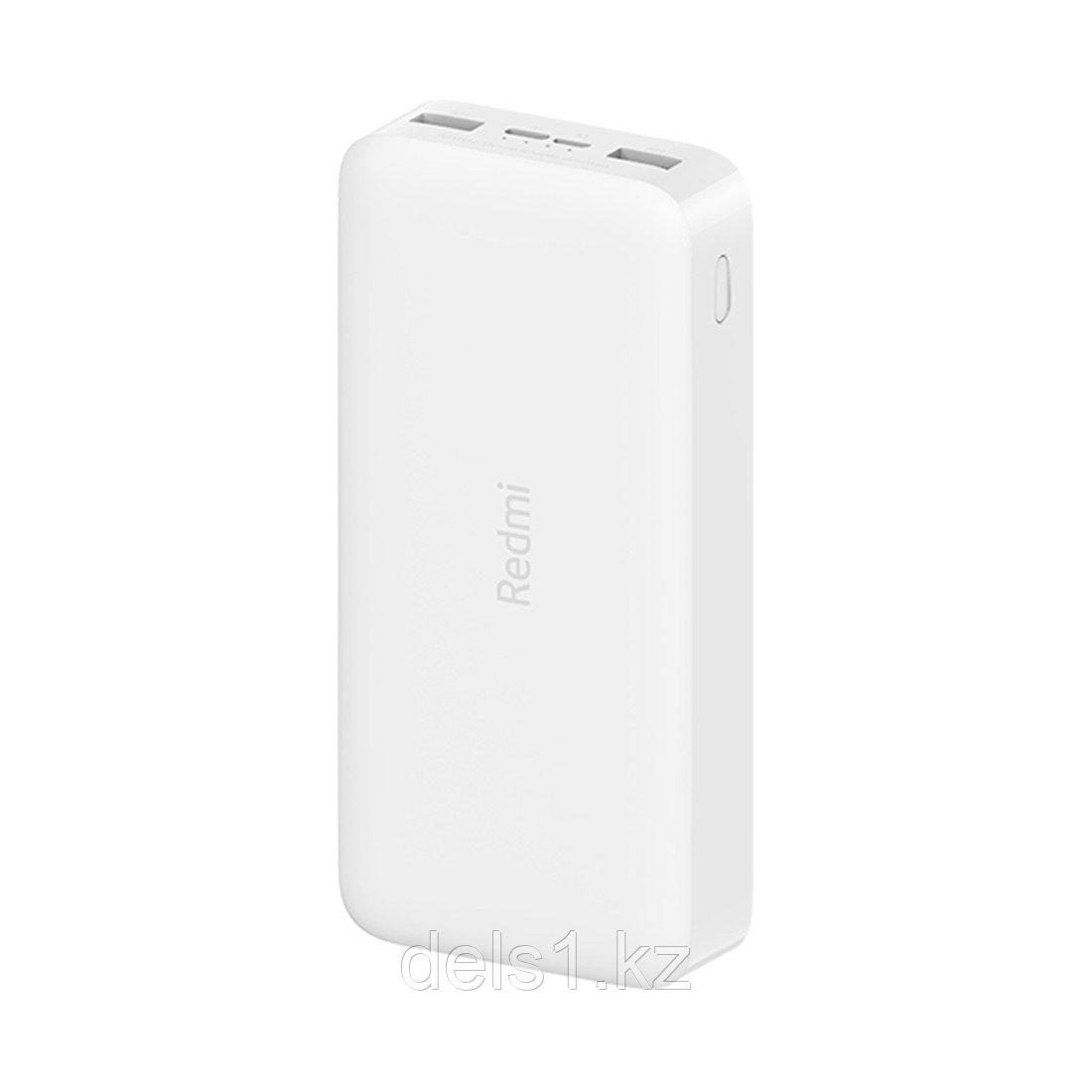 Портативное зарядное устройство Xiaomi Redmi Power Bank 20000mAh (18W Fast Charge) Белый