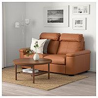 ЛИДГУЛЬТ 2-местный диван, Гранн/Бумстад золотисто-коричневый, Гранн/Бумстад золотисто-коричневый