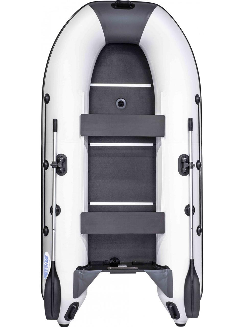 Лодка RUSH 3000 СК комби светло-серый/графит