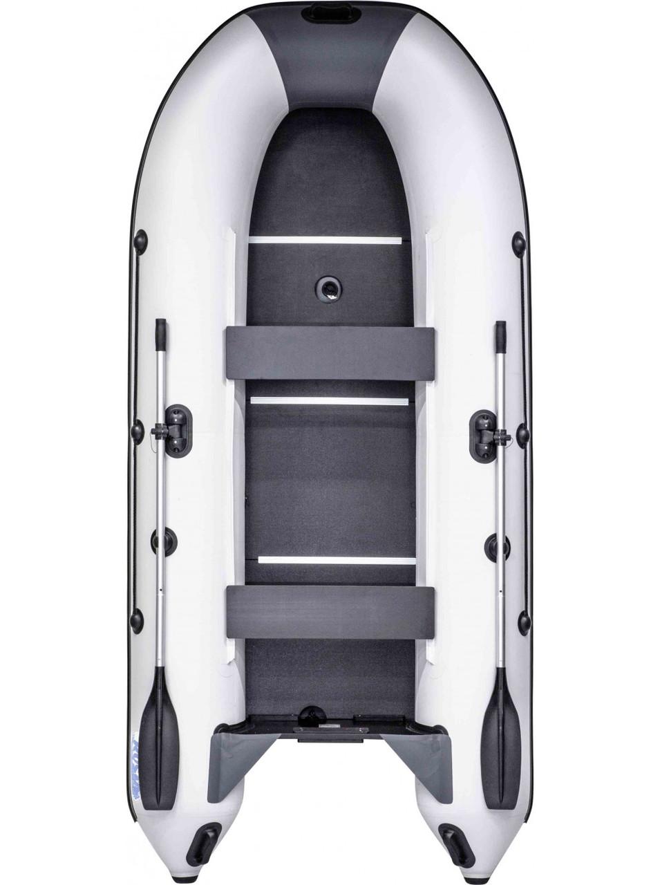 Лодка RUSH 3300 СК комби светло-серый/графит