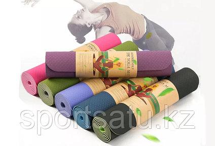 Коврик для йоги и фитнеса 183х61х0.6