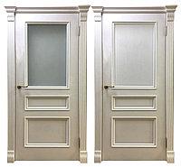Дверь шпонированная белая Барселона