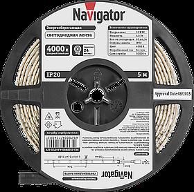 Лента СД NLS-3528W60-4.8-IP20-12V R5 71 400 Navigator