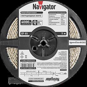 Лента СД NLS-3528W60-4.8-IP65-12V R5 71 401 Navigator