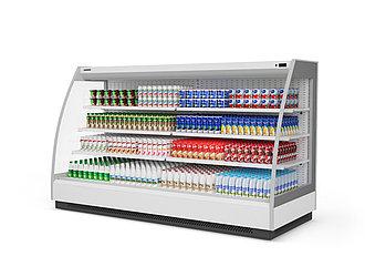 Холодильная витрина Ikar 250 торцевая