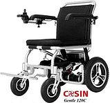 Инвалидная коляска электр. Вес 18 Кг. Gentle 120C, 24v  300w. Аккум.  Li-ion 24v 5,8 A/H, фото 2