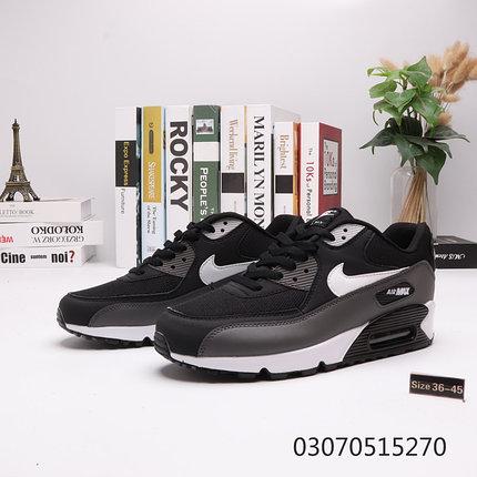"""Nike Air Max 90 """"Black\Gray"""" ( 36-45 ), фото 2"""