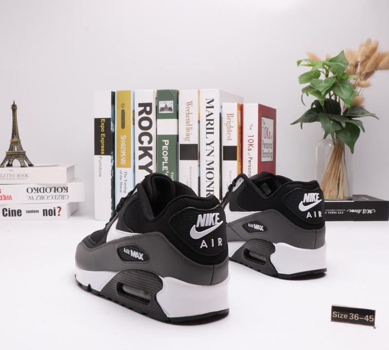 """Nike Air Max 90 """"Black\Gray"""" ( 36-45 ) - фото 2"""
