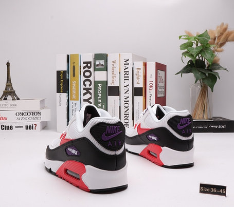 "Кроссовки Nike Air Max 90 ""White\Black"" (36-45), фото 2"