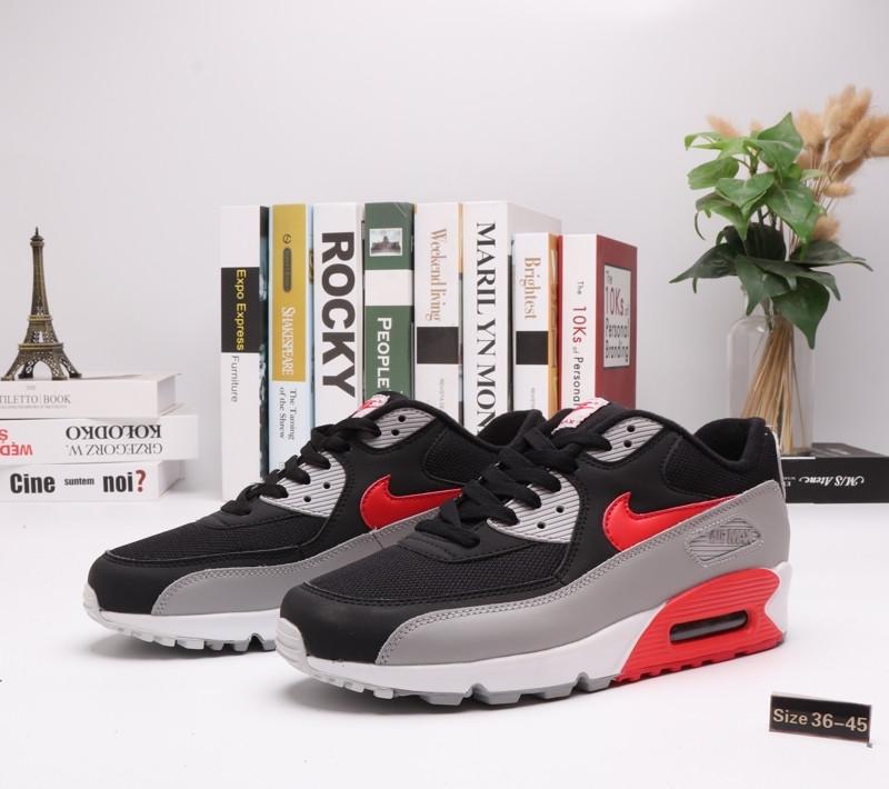 "Кроссовки Nike Air Max 90 ""BLack\Gray"" (36-45) - фото 1"