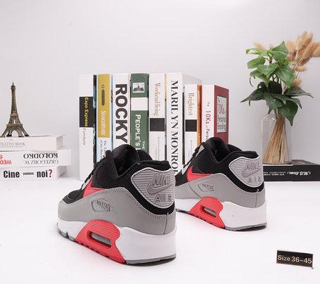 "Кроссовки Nike Air Max 90 ""BLack\Gray"" (36-45), фото 2"