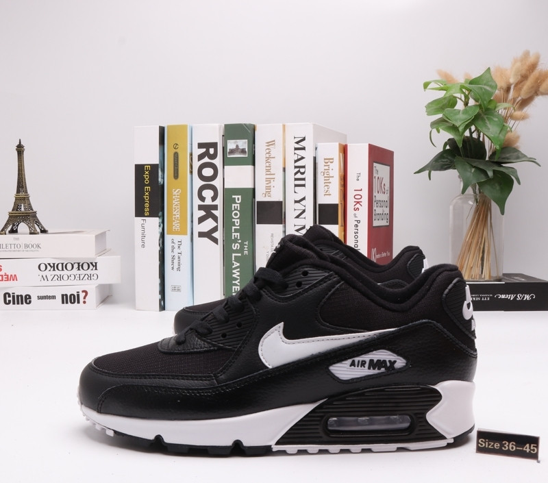 "Кроссовки Nike Air Max 90 ""BLack\White"" (36-45)"