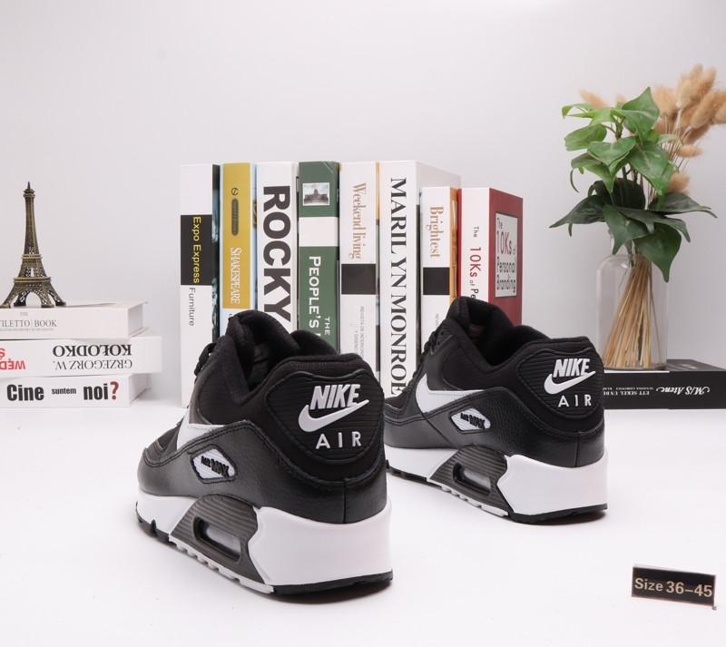 "Кроссовки Nike Air Max 90 ""BLack\White"" (36-45) - фото 2"