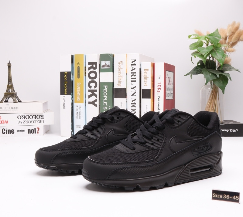 "Кроссовки Nike Air Max 90 ""All BLack"" (36-45)"