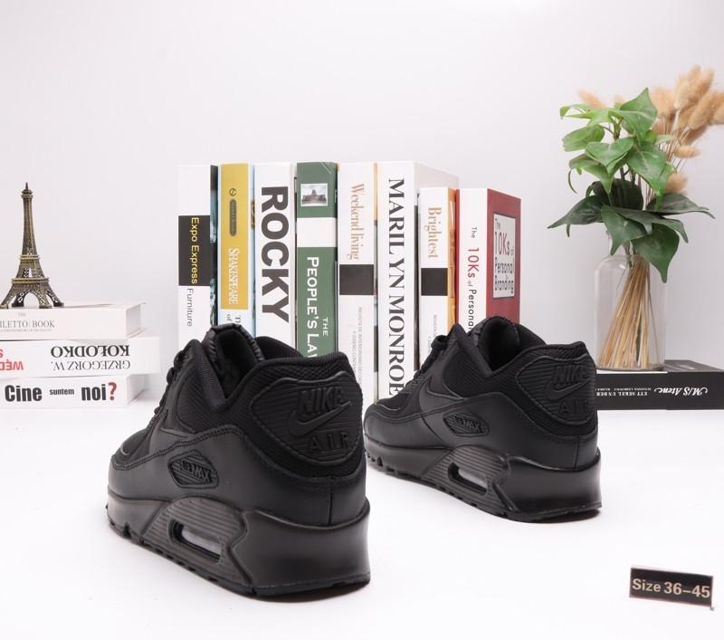 "Кроссовки Nike Air Max 90 ""All BLack"" (36-45) - фото 2"