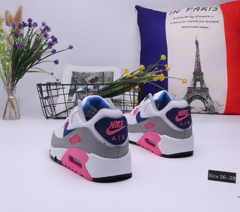 "Женские кроссовки Nike Air Max 90 ""White\Pink"" (36-39) - фото 2"