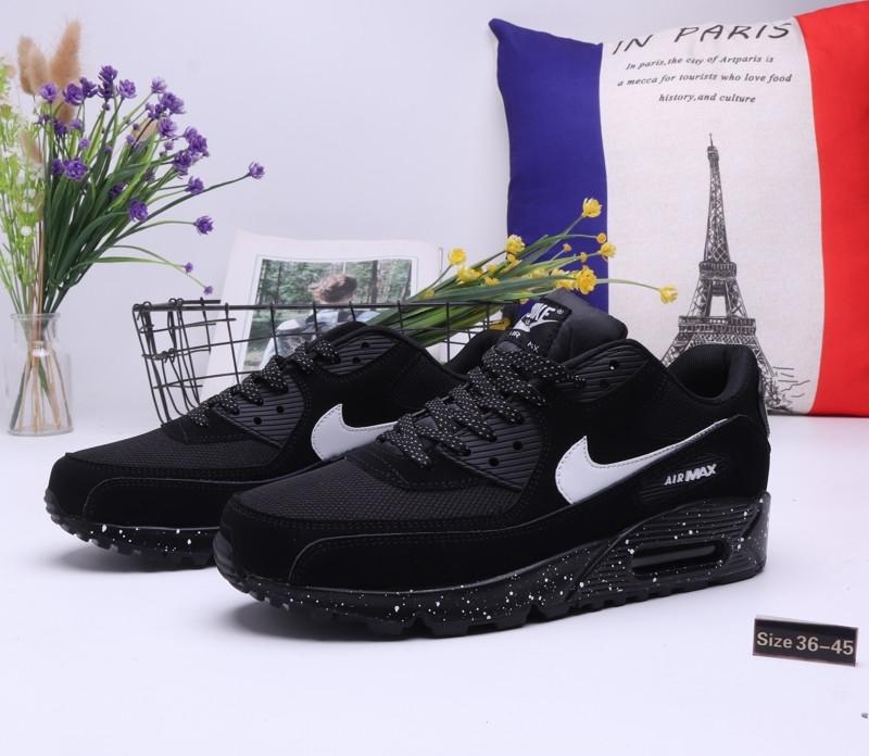 "Кроссовки Nike Air Max 90 ""Black"" (36-45) - фото 1"