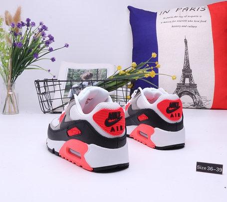 "Кроссовки Nike Air Max 90 ""Gray\Black"" (36-39), фото 2"