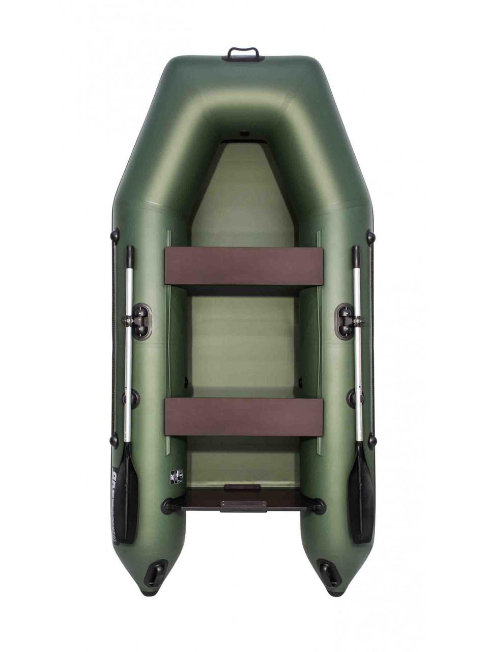 Лодка АКВА 2900 зеленый