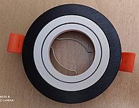 Точечный светильник круглый  с поворотным механизмом, фото 1
