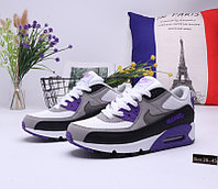 "Кроссовки Nike Air Max 90 ""Gray\Blue"" (36-45)"