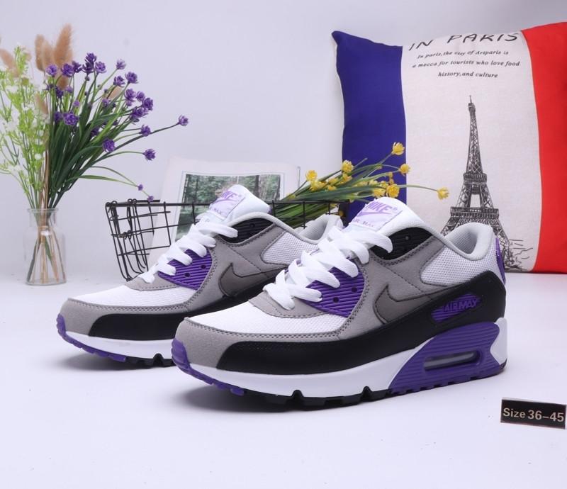 "Кроссовки Nike Air Max 90 ""Gray\Blue"" (36-45) - фото 1"