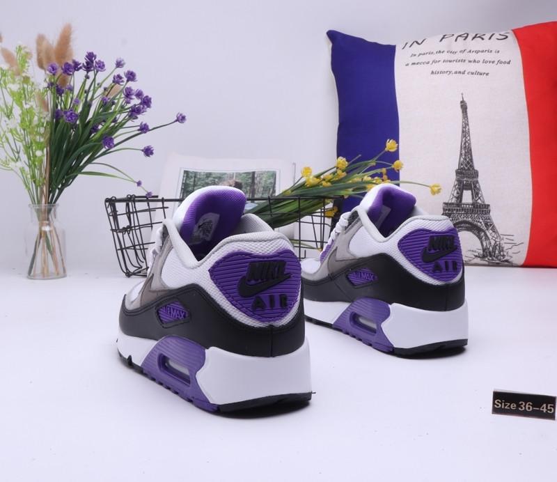 "Кроссовки Nike Air Max 90 ""Gray\Blue"" (36-45) - фото 2"
