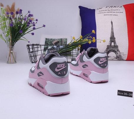 "Женские кроссовки Nike Air Max 90 ""Gray\Pink"" (36-39), фото 2"