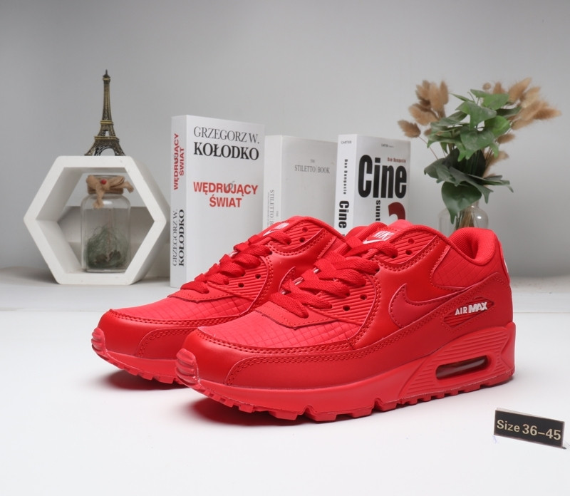 "Кроссовки Nike Air Max 90 ""All red"" (36-45)"