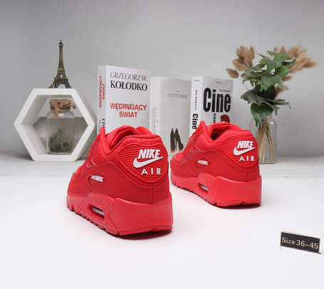 "Кроссовки Nike Air Max 90 ""All red"" (36-45), фото 2"