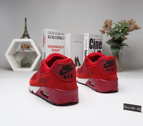 """Кроссовки Nike Air Max 90 """"Red\White"""" (40-45), фото 2"""