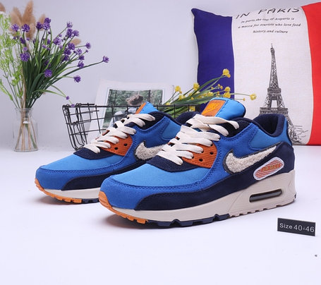 "Кроссовки Nike Air Max 90 ""Blue"" (40-45), фото 2"