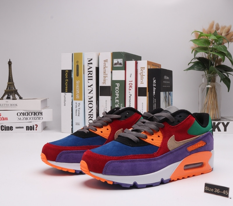 "Кроссовки Nike Air Max 90 ""Multicolor"" (36-45)"