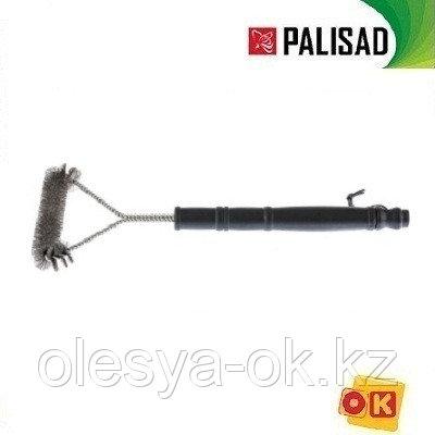 Щетка для чистки гриля, 43 см. PALISAD. 69652