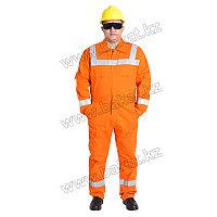 Комбинезон огнеупорный оранжевый