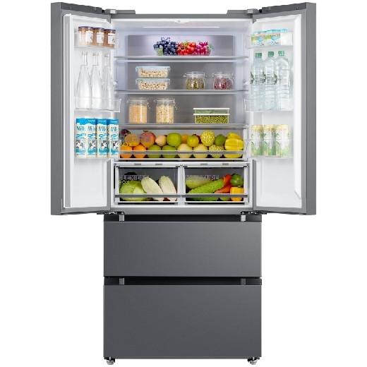 Холодильник Midea HQ-610WEN IG серебристый