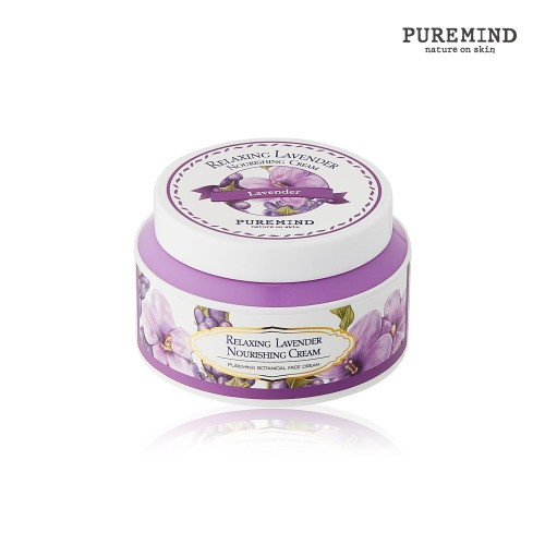 Puremind Relaxing Lavender Nourishing Cream Расслабляющий Крем для лица с Лавандой 100 мл.