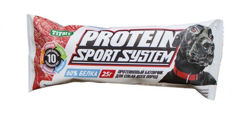 Протеиновый батончик TitBit Sport System с аминокислотами - 25 г