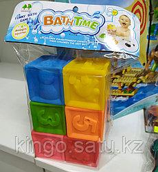 Развивающие игрушки - Мягкие кубики +6 месяцев, Soft blocks