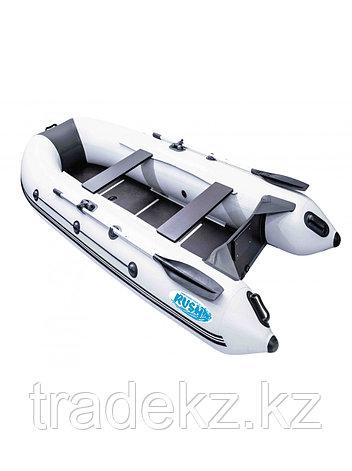 Лодка ПВХ RUSH 3300 СК светло-серый/черный, фото 2