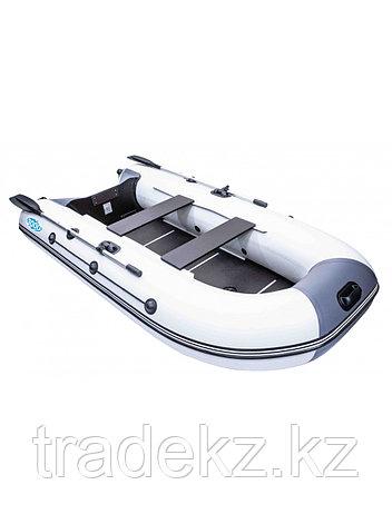 Лодка ПВХ RUSH 3000 СК светло-серый/черный, фото 2